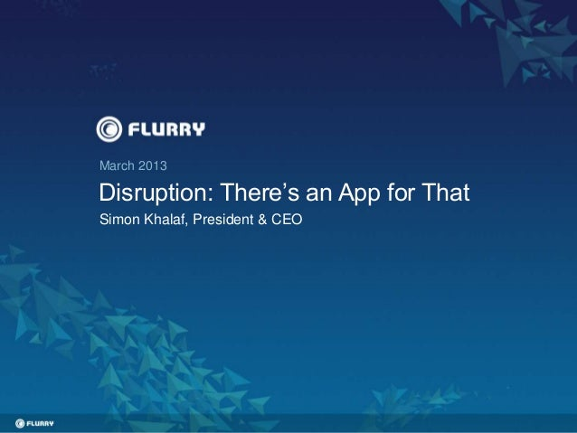 IGNITION Mobile- Flurry