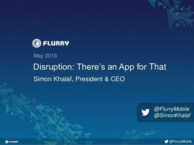 Flurry simon khalaf_presentation_appnation2013ny