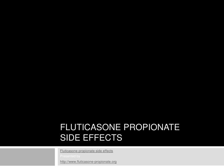 Fluticasone Propionate Side Effects