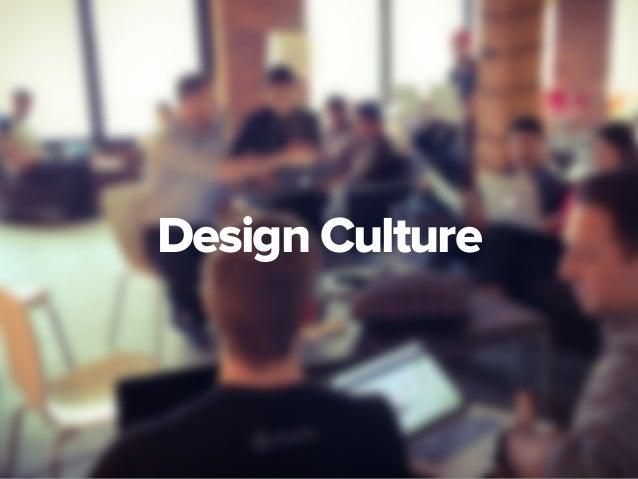 Designing Your Design Culture