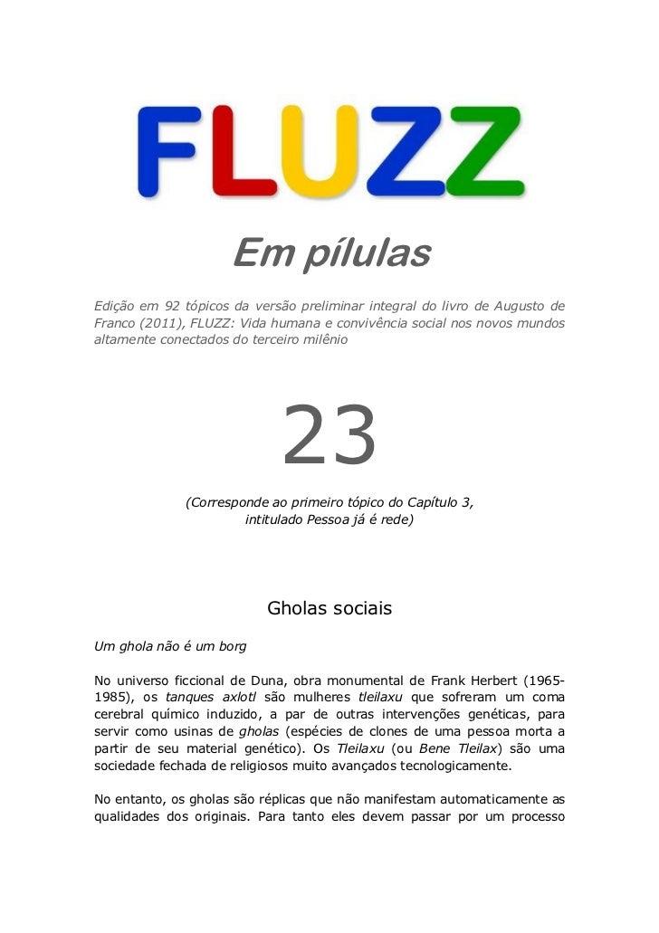 Fluzz pilulas 23