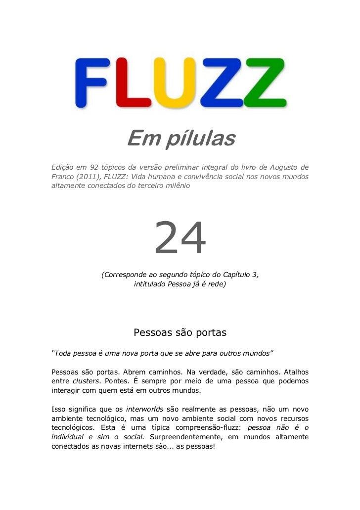 Fluzz pilulas 24