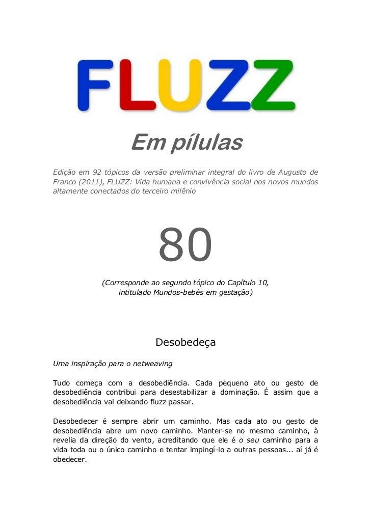 Fluzz pilulas 80