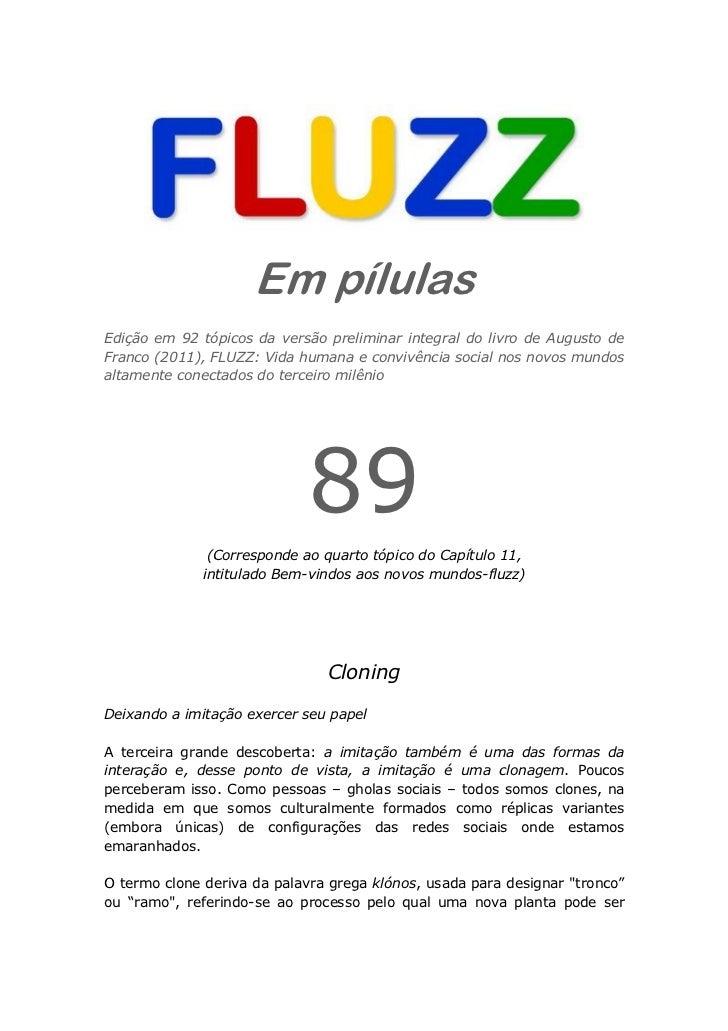 Fluzz pilulas 89