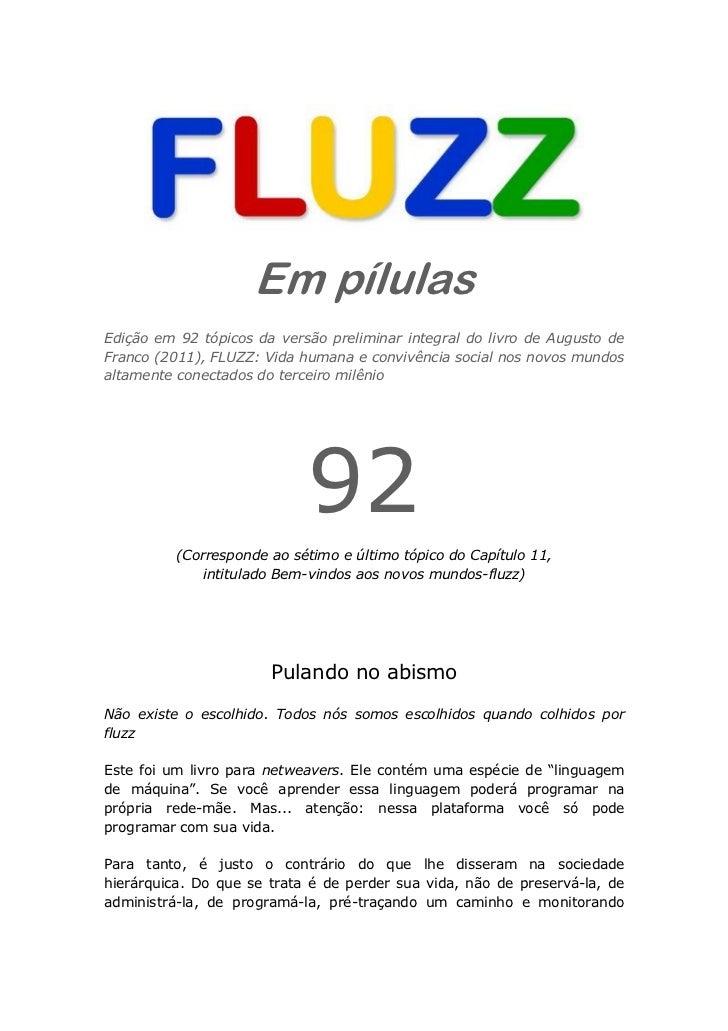 Fluzz pilulas 92