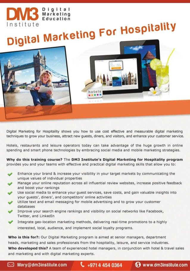Digital Marketing for Hospitality: An Iconsulthotels Education Project