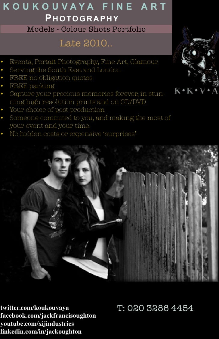 Flyer   koukouvaya fine art photography - models folio [colour]