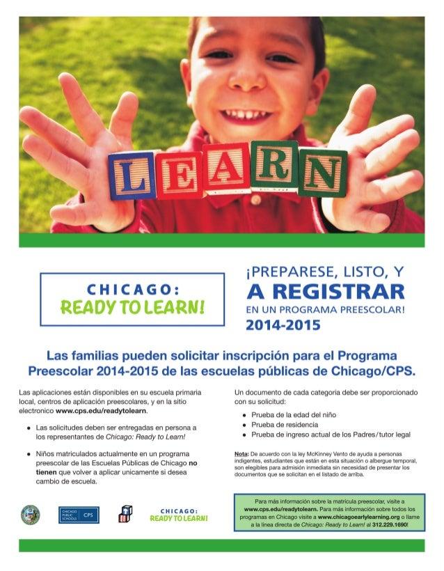 Chicago: Ready to Learn! (Español)