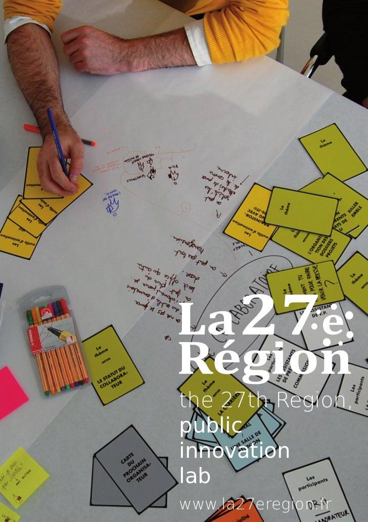the 27th Region,publicinnovationlabwww.la27eregion.fr