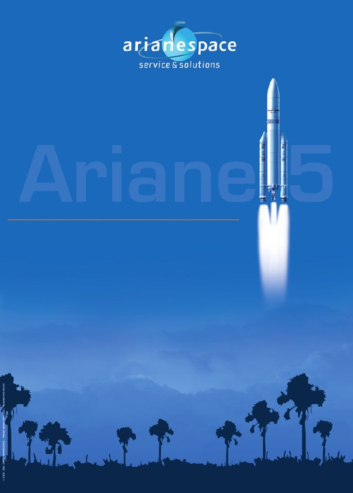 Flyer Ariane 5 2009