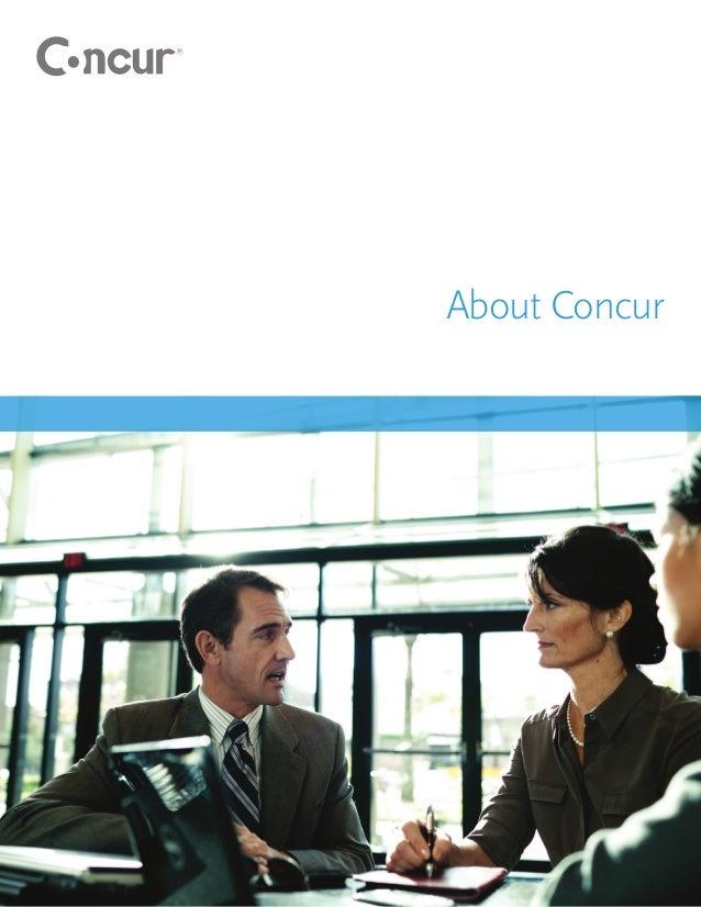 About Concur