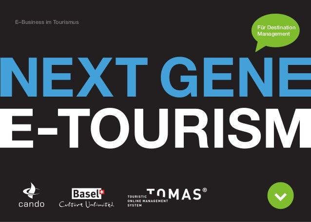 E–Business im Tourismus                          Für Destination                          Management