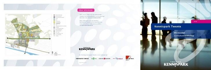 Gebiedsontwikkeling Kennispark Twente
