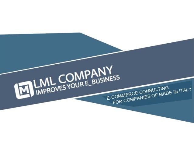 Lodovico Marenco - E - Business consulting