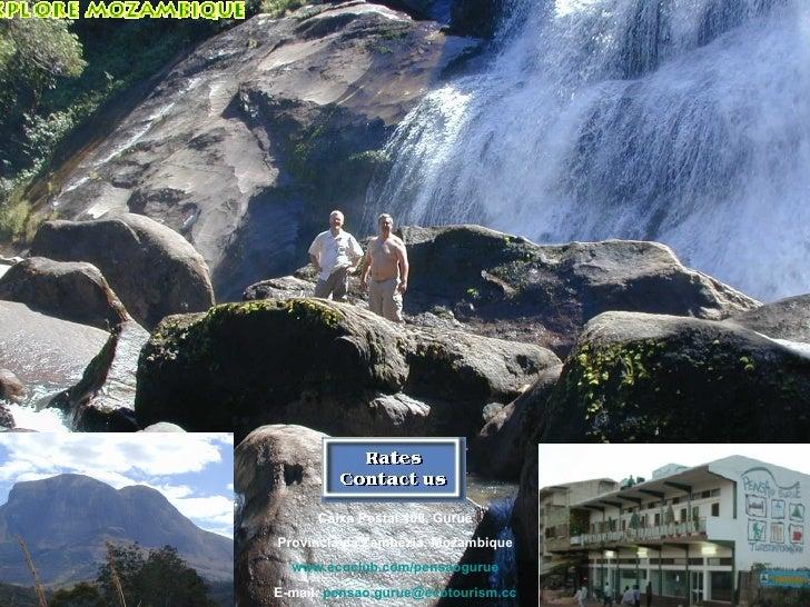Flyer Mit Wasserfall