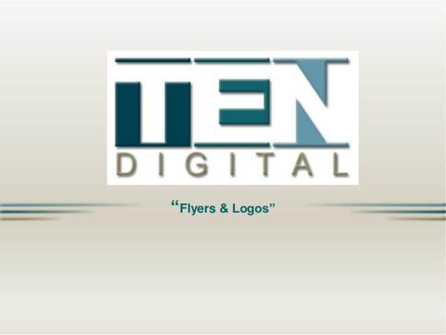 TEN Digital - Flyers & Logos EN