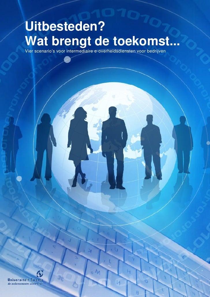Flyer Scenario's e-overheidsdiensten