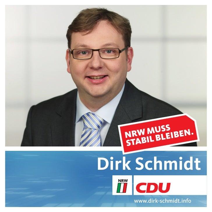 Dirk Schmidt     www.dirk-schmidt.info