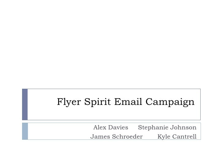 Flyer Spirit Email Campaign