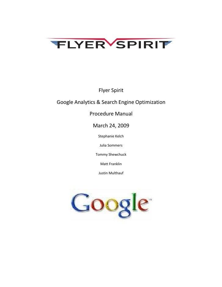 Flyer Spirit Procedure Manual