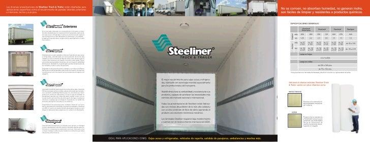 Laminado para trailer Steeliner Stabilit