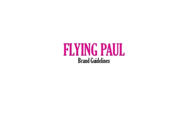 Flying Paul Brand Guidelines