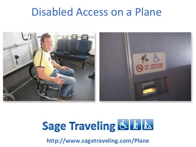 Disabled Access On A Plane