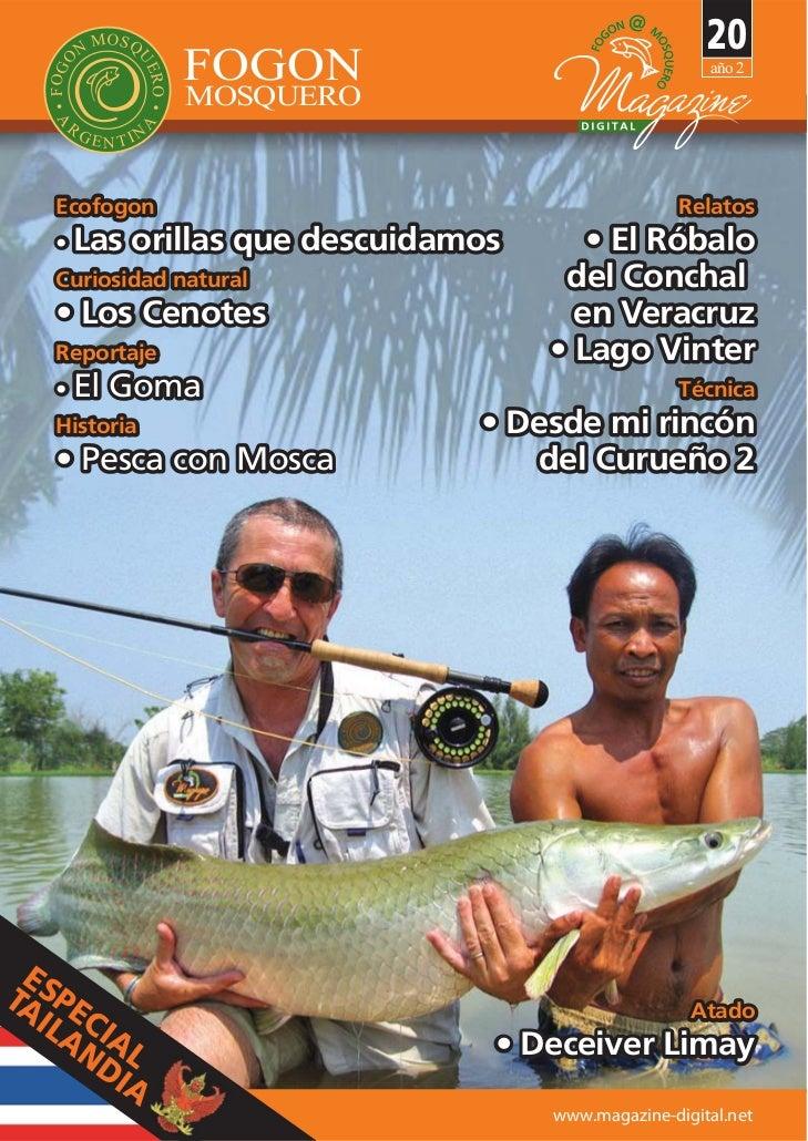 Fly magazine mosquero nº 20