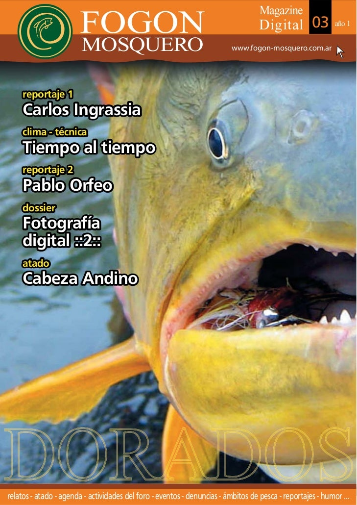 Fly magazine mosquero nº 3