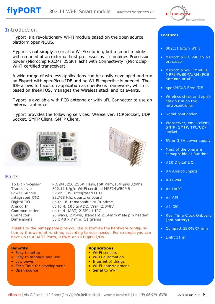 802.11 Wi-Fi Smart module               powered by openPICUSIntroduction                                                  ...