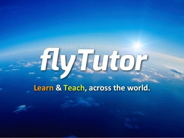 FlyTutor pitching