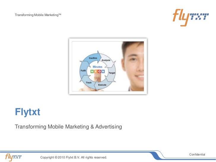 Flytxt slides