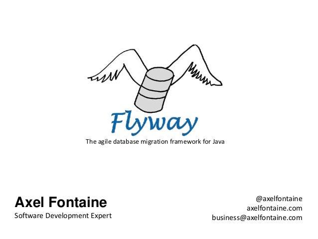 The agile database migration framework for Java                                                                        @ax...