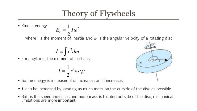moment of inertia of a flywheel I've seen a method for experimentally determining the moment of inertia of a flywheel and i'm not sure whats the reasoning behind it you attach a small weight m1 to the flywheel's edge, it's important that m1≪m, m being the mass of the flywheel, so we can approximate that the small mass does not change the moi of the flywheel.