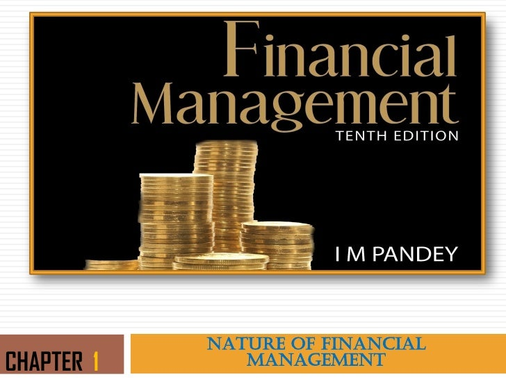 NATURE OF FINANCIALCHAPTER 1      MANAGEMENT