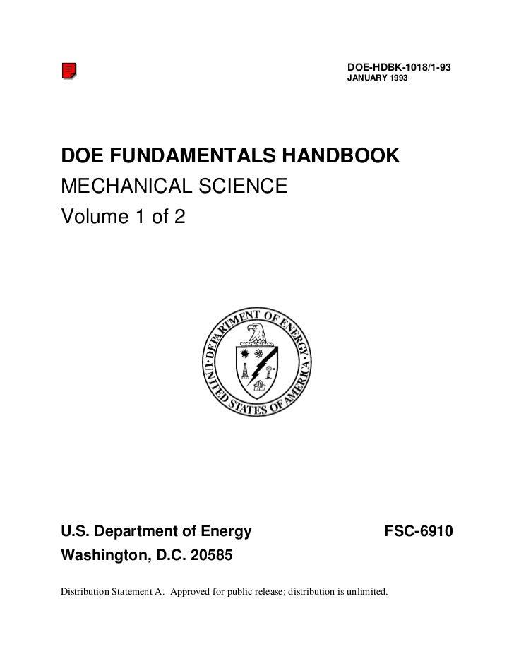 DOE-HDBK-1018/1-93                                                                       JANUARY 1993DOE FUNDAMENTALS HAND...