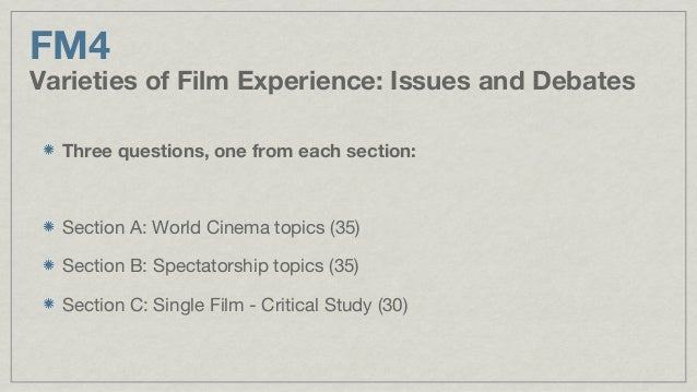 Film Studies Coursework - Picking a good film...?