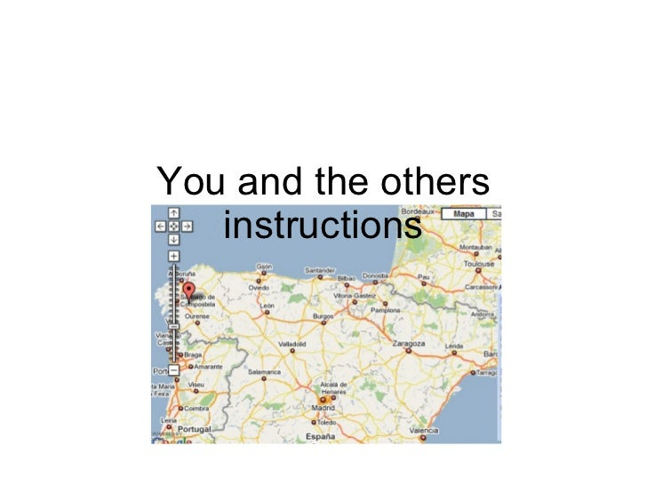You and the others instructions