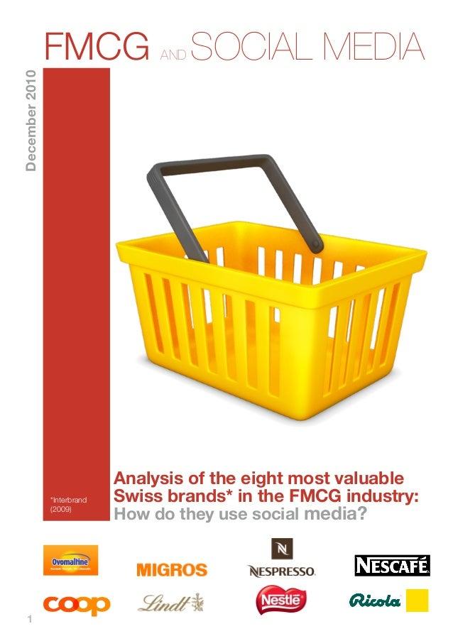 Social Media For the FMCG Industry- FMCG and social media