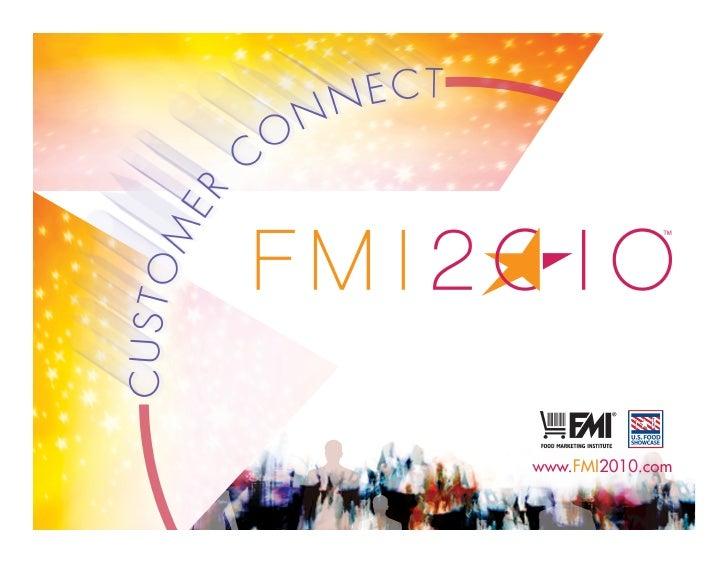 Marketing To The Evolving Shopper - FMI