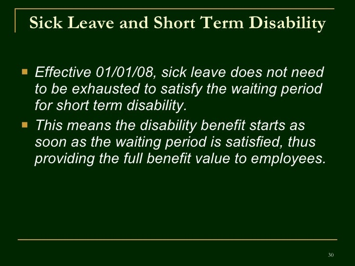 What is the 1st step in taking Fmla/Short term Disability?