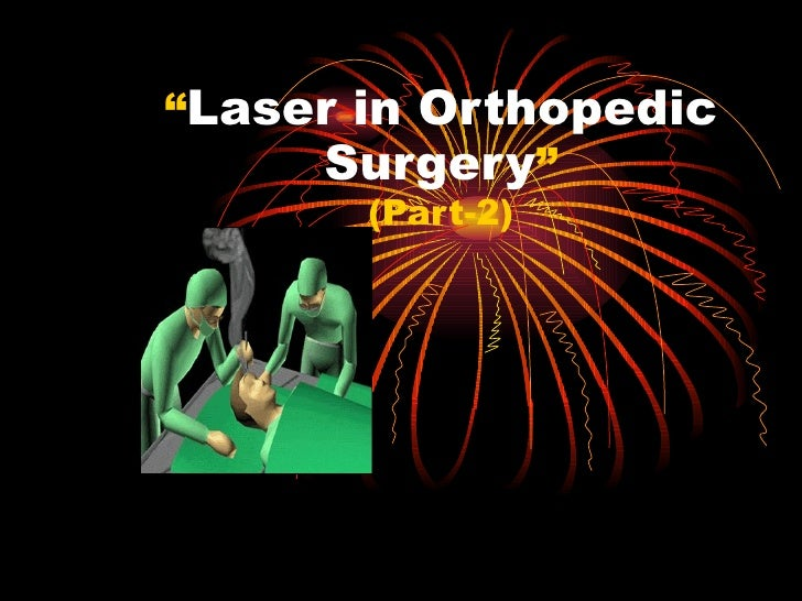 Mode of Action of Laser In Tissues