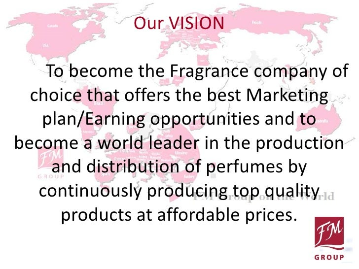 feasibility study about perfume