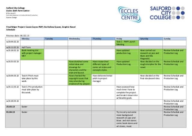 Fmp schedule 20 02 2013