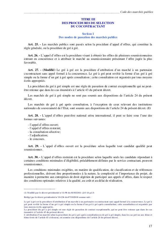 Modele Mise En Demeure Marche Public Document Online