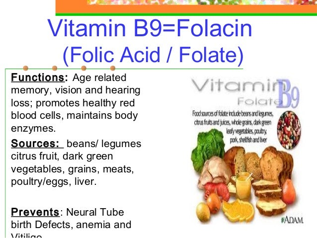 Where Can I Find Folic Acid In Food