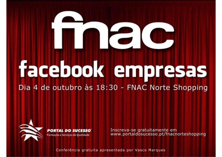 Fnac norte shopping facebook empresas