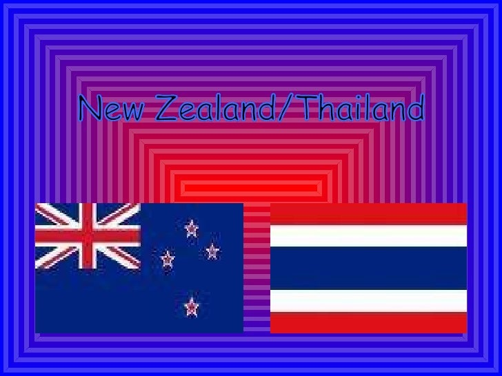 New Zealand Compared to Thailand