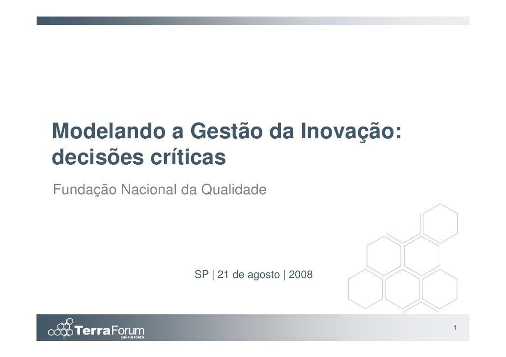 FNQ   Inovação   Terra Forum