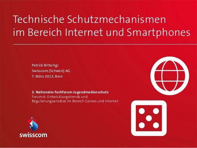 Technische Schutzmechanismenim Bereich Internet und Smartphones                                                         1 ...